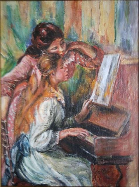 Dziewczęta przy Pianinie – Johannes Vermeer