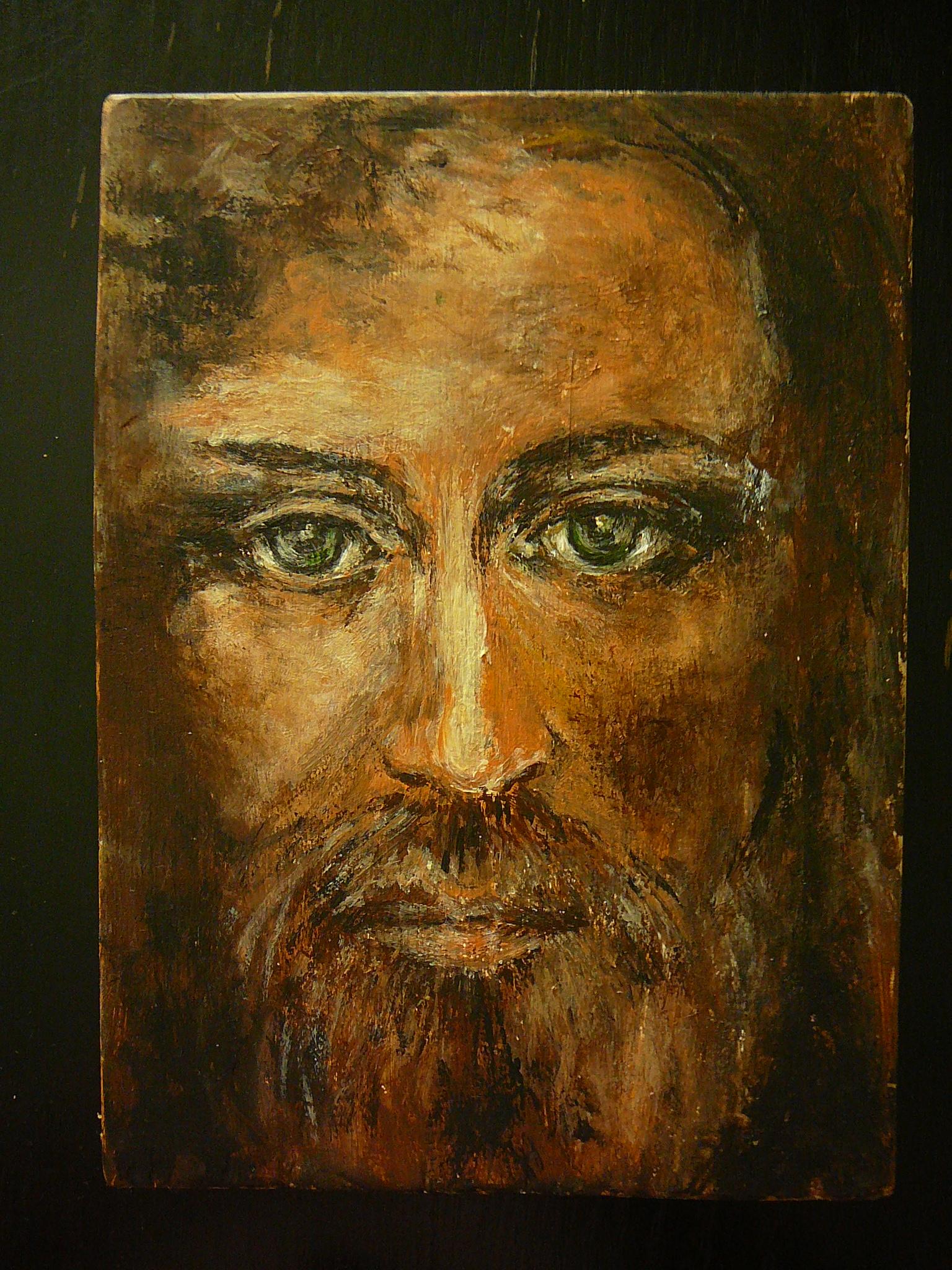 Jezus akryl