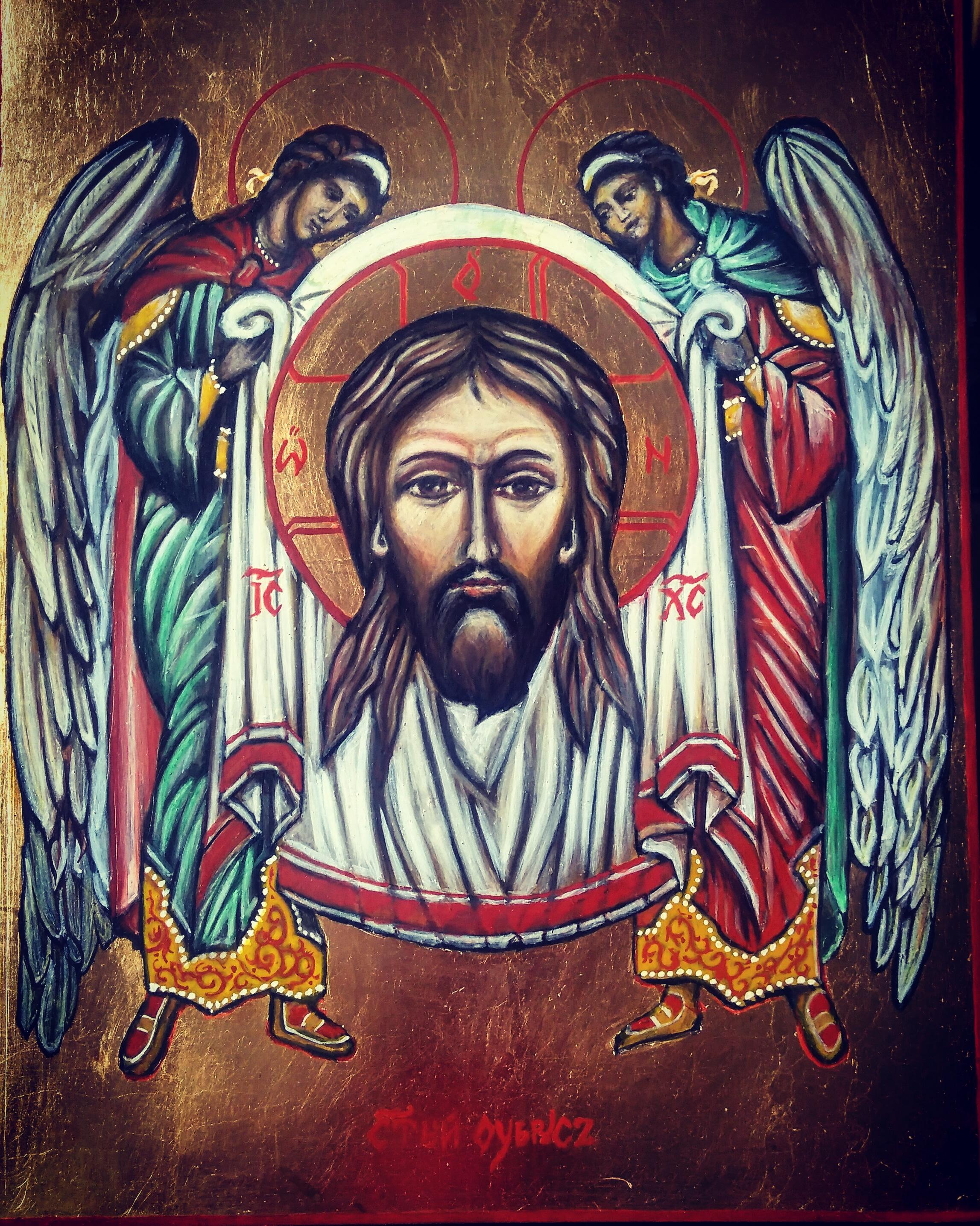 Jezus – Oblicze z Aniołami